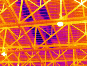 Roof Survey Thermal Camera Image