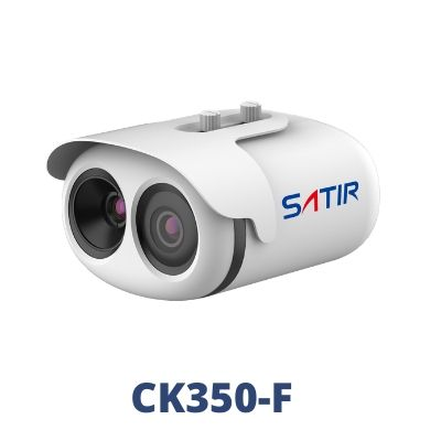 CK350F Fever Screening & Mask Detection thermal camera from SATIR