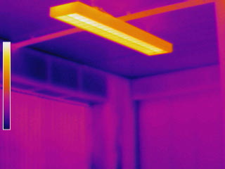 Thermal Image of heating loss