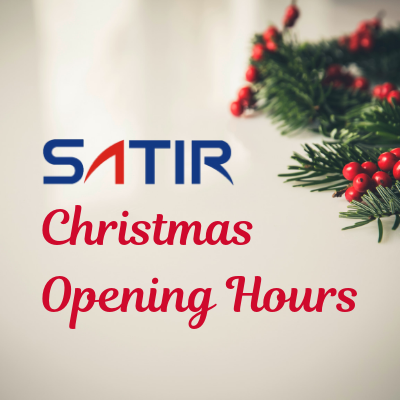SATIR Christmas Hours