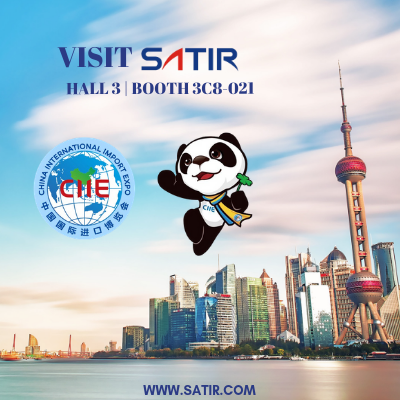 SATIR Europe to Exhibit at China International Import Expo (CIIE)