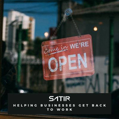 SATIR Helping Businesses Get Back to Work