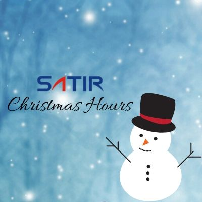 SATIR Christmas Hours | 2019