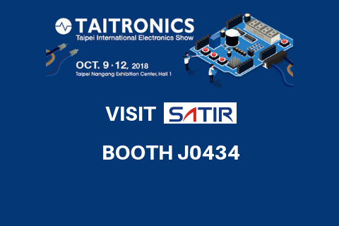 SATIR Exhibiting at Taitronics 2018